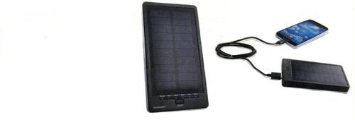 cargador solar power bank