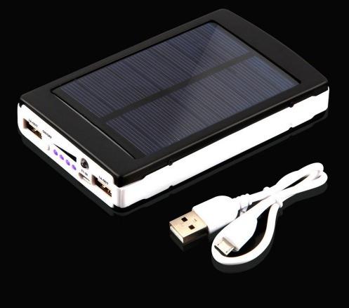 cargador solar power bank para celular tablet