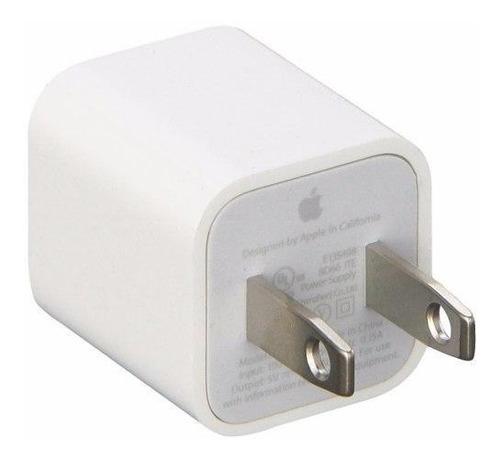 cargador taco iphone apple original (con cable lightning)