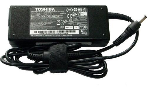 cargador toshiba 18.5v/3.5a/65w/5.5x2.5mm plug negro 357