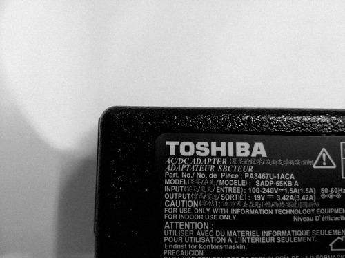 cargador toshiba 19v 3.42a