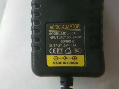 cargador transformador al-0510 5v 1a router modem equiprog