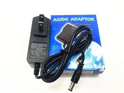 cargador transformador de corriente 5v 1a modem por 3 unidad