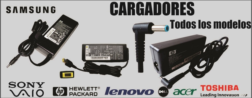 Cargador Transformador De Laptops Reconstruidos Toda Color - Bs ...