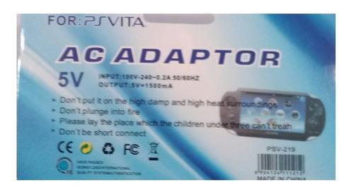 cargador transformador pspvita play station 5v, garantizados