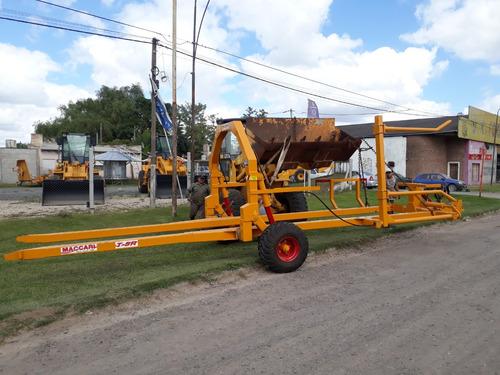 cargador transportador de rollos maccari