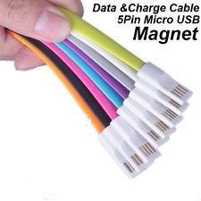 cargador ultrarapido magnetico microusb samsung 1 mts