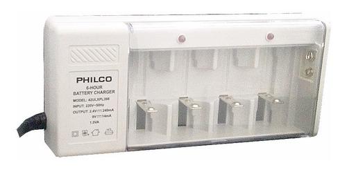 cargador universal baterias 9v pilas aa aaa c d recargables
