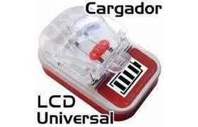 cargador universal digital c/puerto usb - unico/baterías/cel