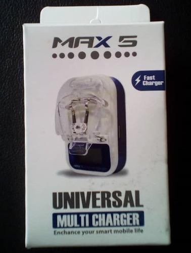 cargador universal multicarga samsung lg huawei blu tienda
