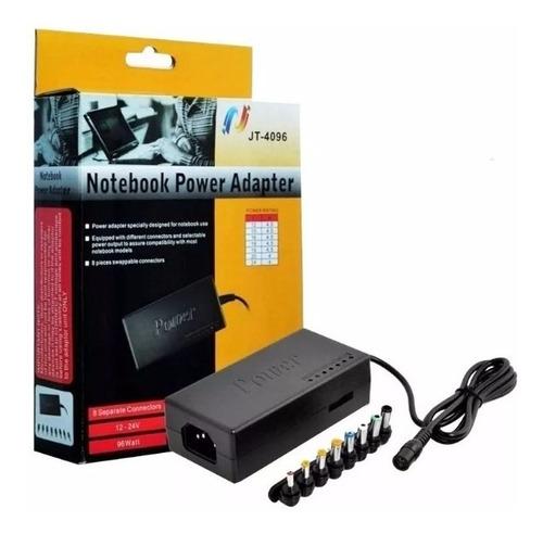 cargador universal notebook netbook 12v-24v lenovo toshiba