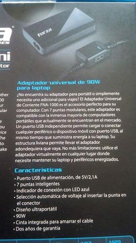 cargador universal para laptop,