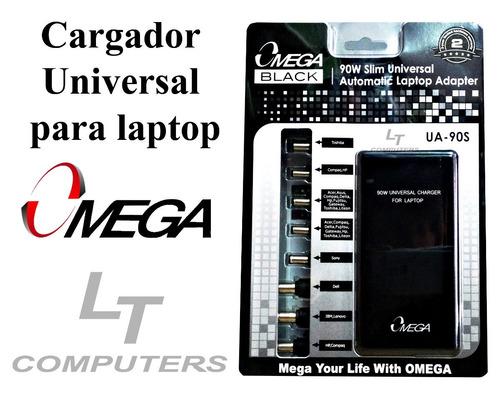 cargador universal para laptop omega90w