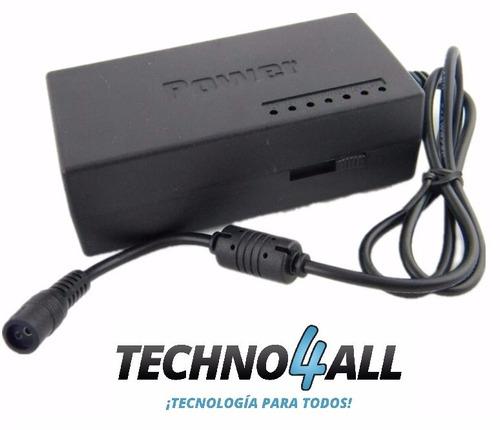 cargador universal para laptop voltaje regulable 12 a 24v