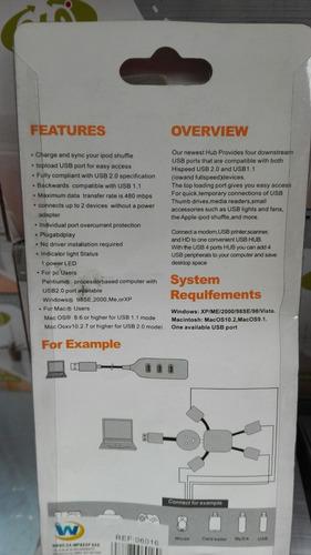 cargador universal usb varios usos nuevo