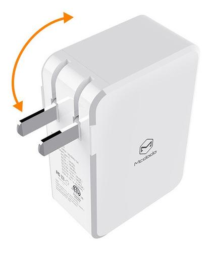 cargador us standard 41w pd usb-c + 2 usb