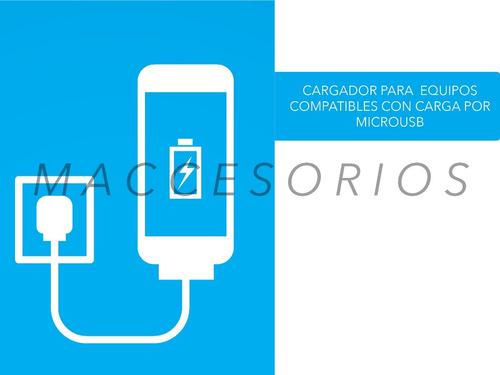 cargador usb 5v 2amp patas oblicuas ideal difusor aromatico