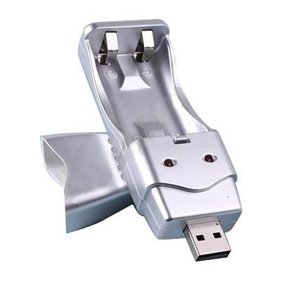 cargador usb bateria aa-aaa, muy conveniente y fácil de usar