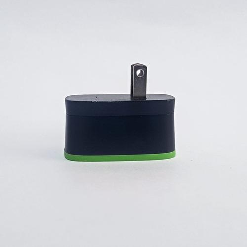 cargador usb doble carga rapida 2.4a android iphone 4566