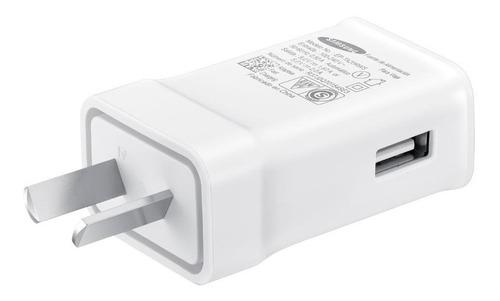 cargador usb tipo c samsung ep-ta20 carga rapida 2.0a 15w