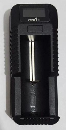 cargador vapeador pilas 18650 pantalla led inteligente usb