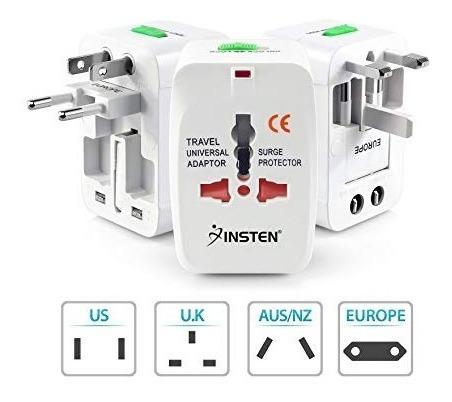 cargador viajero 220v todos paises portable  titan belgrano