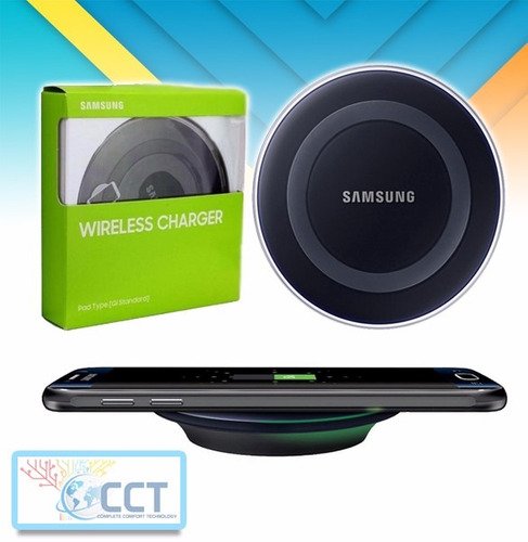 cargador wireless samsung  carga normal.