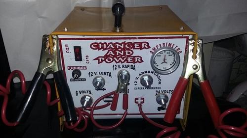 cargador y arrancador de baterias y acumulador de autos