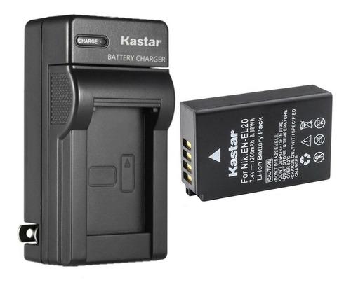 cargador y bateria en-el20 nikon aw1 j1 j2 j3 s1 v3 coolpix
