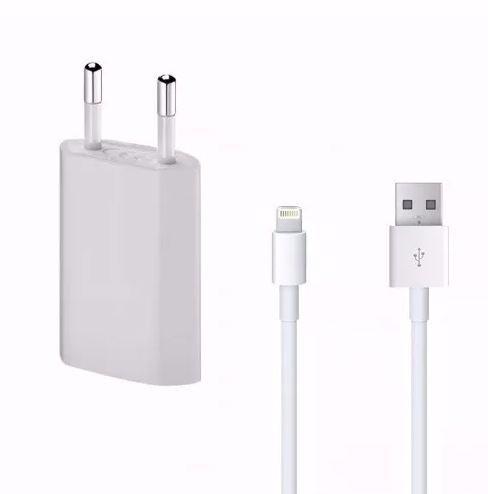 cargador y cable para iphone 5, 5c, 5s, 6 , 6s + regalo