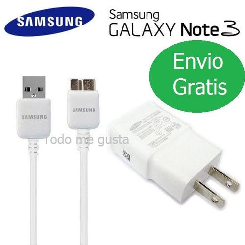 cargador y cable usb 3.0 samsung galaxy original s5 4 note 3
