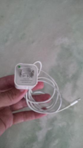 cargador y conector (cubo) para iphone 5, 6