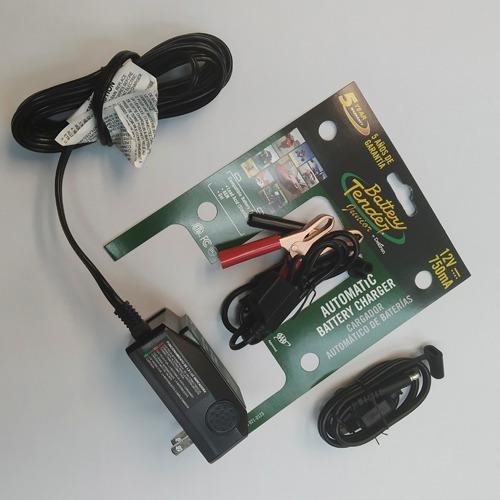 cargador y mantenedor de batería inteligente 12v, 0.75a