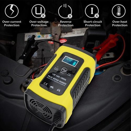 cargador y reparador de baterías por pulso inteligente nuevo