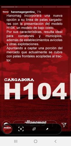 cargadora hanomag h104