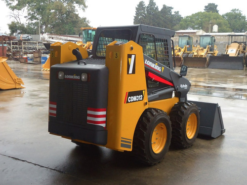 cargadora lonking cdm312 potencia 74hp motor xinchai