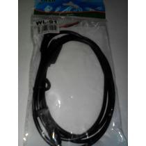 Cable Cargador Hp, Acer, Asus, Punta Amarilla 5.5 X 1.7