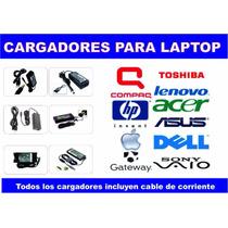 Cargador Para Laptop Hp Dell Toshiba Acer Lenovo Original