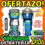 Wow Cargador De Pila Aa Aaa +2 Aa 2500mah Rayovac Bateria