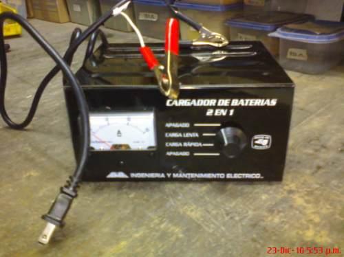 Cargadores de baterias caseros para autos en - Cargador de baterias ...