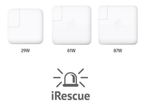cargadores para mac originales usb c 29w-61w-87w