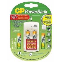 Cargador Gp De Bateria Doble Aa Y Triple Aaa 1000mah At