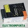 Transformador Para Led Y Cámaras 220v A 12v - 25w - 2 Amp