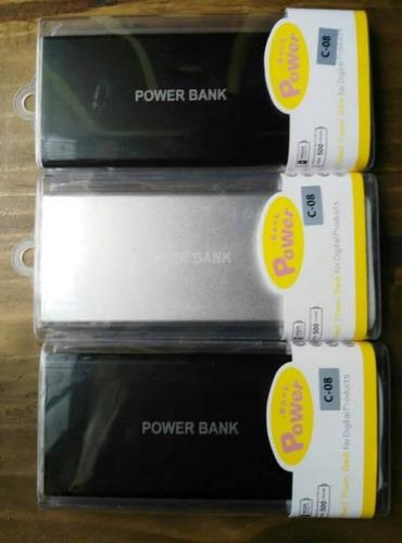 cargadores solares power bank 20,080 mah dcts por cantidad
