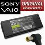 Cargador Laptop Sony 19.5 V-3.9 A. 90 Watts Nuevo En Caja