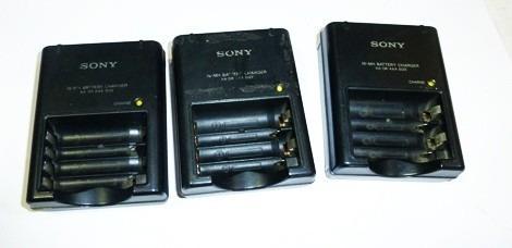 cargadores sony y cargadores lumix  - olipus y kodas