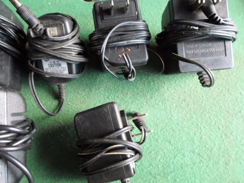 cargadores varios modelos y voltajes
