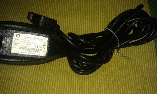 cargadores zte de pared stc-a22050f18 original bueno
