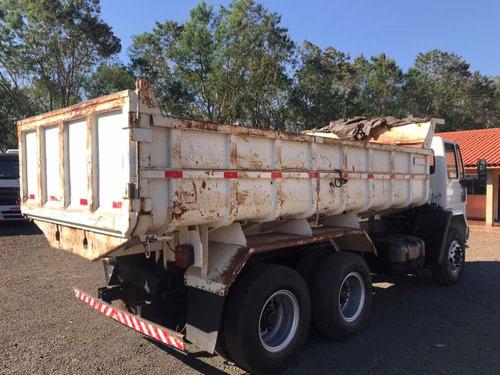 cargo 1621 6x2 2000 c/ caçamba basculante 10 mts