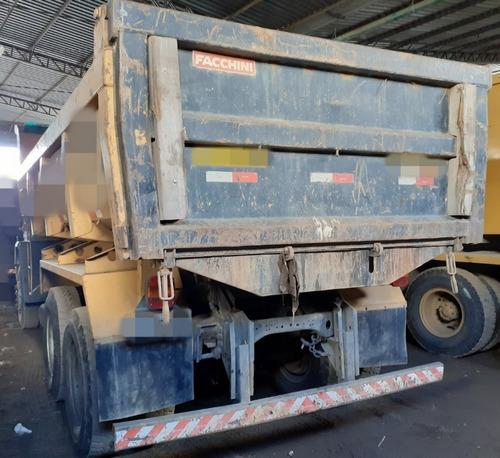 cargo 2422 - 08/09 - truck, caçamba 10m³, c/ 160.000 km0*